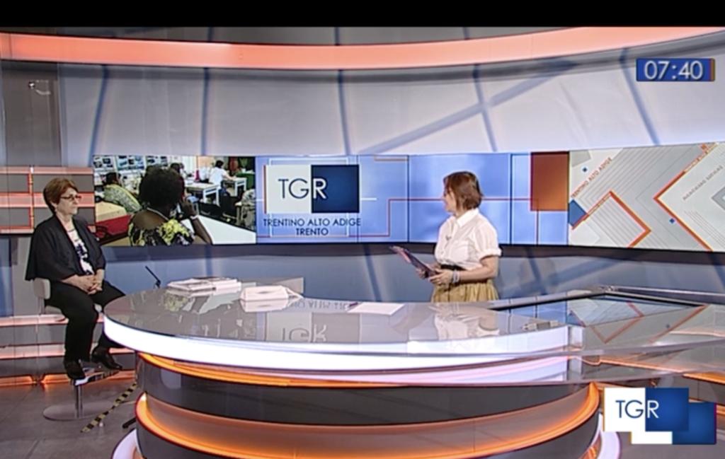Leonora Zefi intervistata dalla RAI RG Regionale